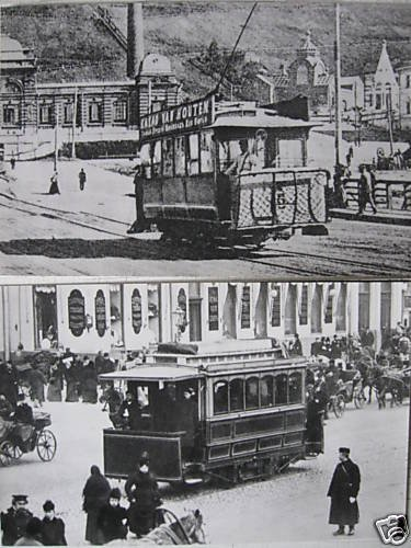 Russian Tramway History 14 Postcards Set