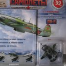 Russian WW2 Fighter Aircraft Jak-9: Model+Magazine