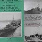 British WW2 Navy Destoyers P.I 1925-1945