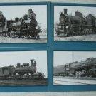 Steam Locomotives of Russian Railways16 Postcards Set 1