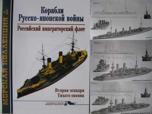 Russian Navy Ships in Russo-Japan War 1904-05. P.2