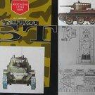 LAST COPY! Russian/Soviet WW2 Tank BT