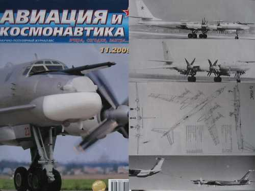 Russian Strategic Bomber Aircraft Tu-95MC