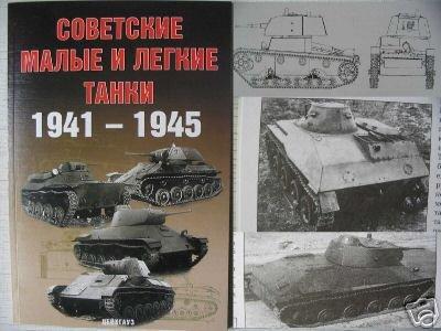 Soviet Light&Small Tanks 1941-45  WW2 - RED ARMY - BOOK