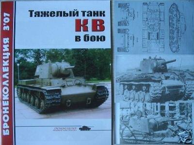 Heavy Russian WW2 Tank KV in Action