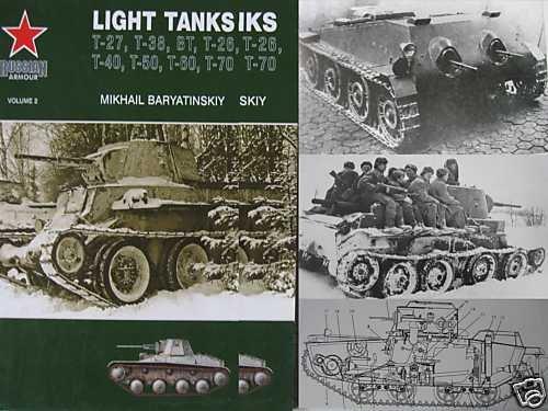 M.Baryatinsky. Russian WW2 Light Tanks (in English)