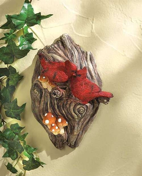 Cardinal Tree Plaque