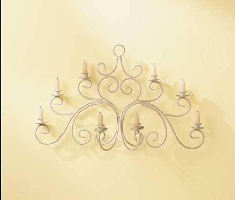 Swirl Wall Candlebra
