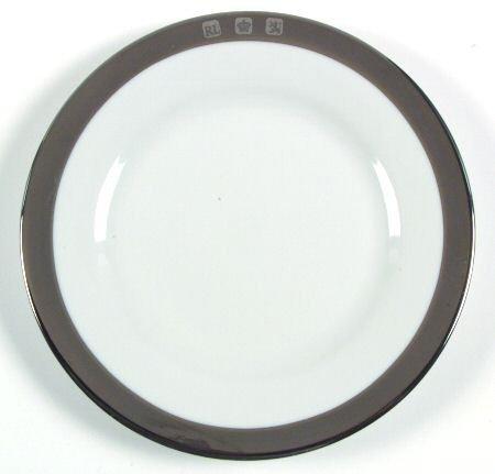 Ralph Lauren Academy Platinum Bread Plate