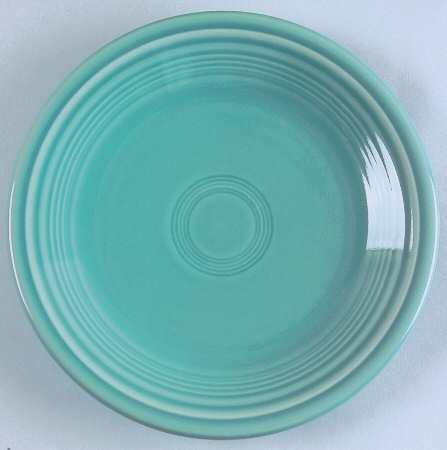 Fiesta Turquoise Bread Plate