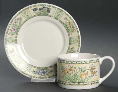 Farberware Chantilly Cup and Saucer