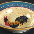 Noble Excellence Rooster Cafe Soup/Cereal Bowl(s)