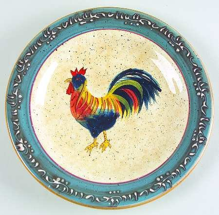 Noble Excellence Rooster Cafe Salad Plate(s)
