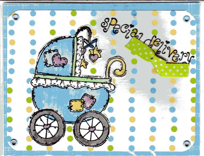 baby blue carriage