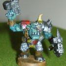 Warhammer 40k Ork Nobz o da Checkard pantz cyborg eye