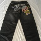 christian audigier long jeans pants brand new size 34