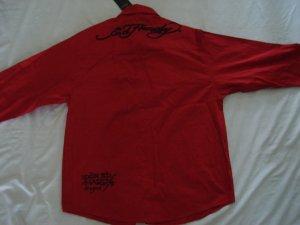 ED Hardy mens long sleeve dress shirt XXL