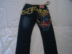 ED Hardy mens long jeans pants brand new with tags size 36