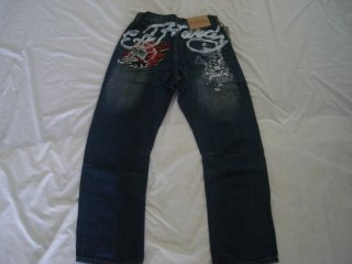 ED Hardy mens long jeans pants brand new with tags size 34