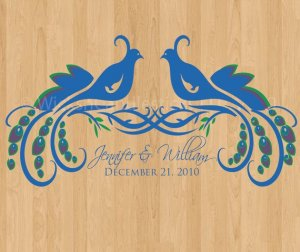 Dance Floor Decals The Wild Peacock