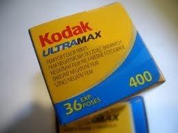 Kodak Ultramax 400 35mm Color Film 36exp Exp 07/2012