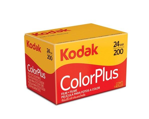 Kodak Color Plus 200 35mm Color Film 24exp Exp 01/2013