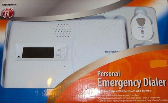 Radio Shack 49-1005 Personal Emergency Dialer