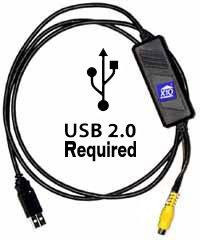 X10 VA11A  PC Video / USB 2.0 Adapter, Video Capture