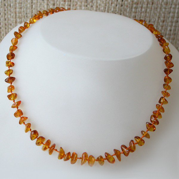 NUGGETS Baby teething Baltic amber beads necklace