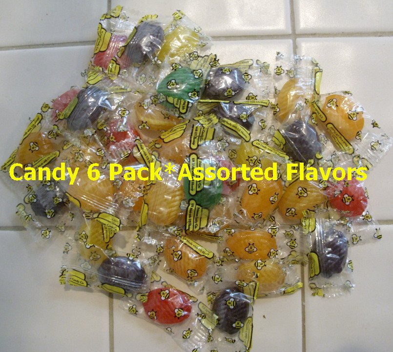 Honey Candy 6pk. Item # CDY-6