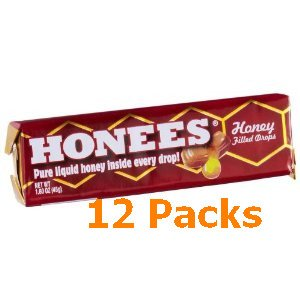 SAVE 38% - 12pk Honey Drops Ambrosoli. Item # DRP-12