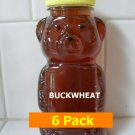 SAVE 10% - 6pk Buckwheat Honey 6 x 12oz btls. Item # BCK-6