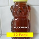 SAVE 20% - 12pk Buckwheat Honey 12 x 12oz btls. Item # BCK-12
