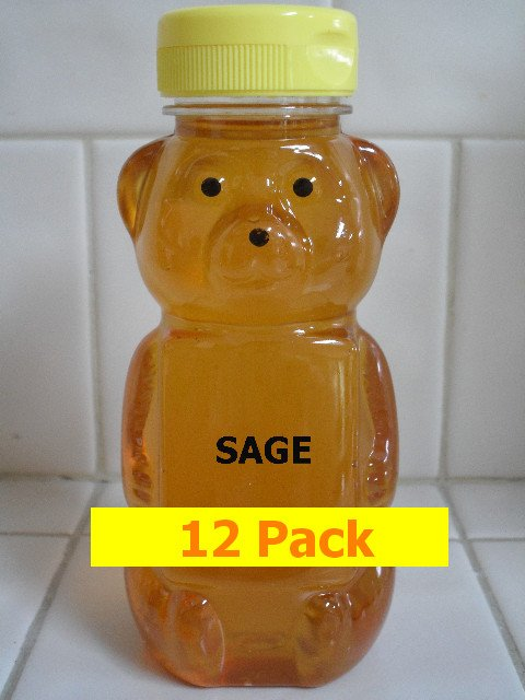 SAVE 20% - 12pk Sage Honey 12 x 12oz btls. Item # SG-12