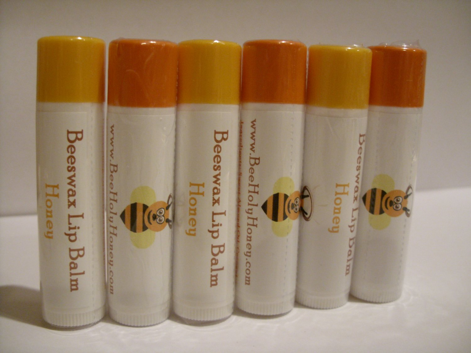 SAVE 17% - 6pk Mixed Flavors Beeswax Lip Balm . Item # LB-MX-6