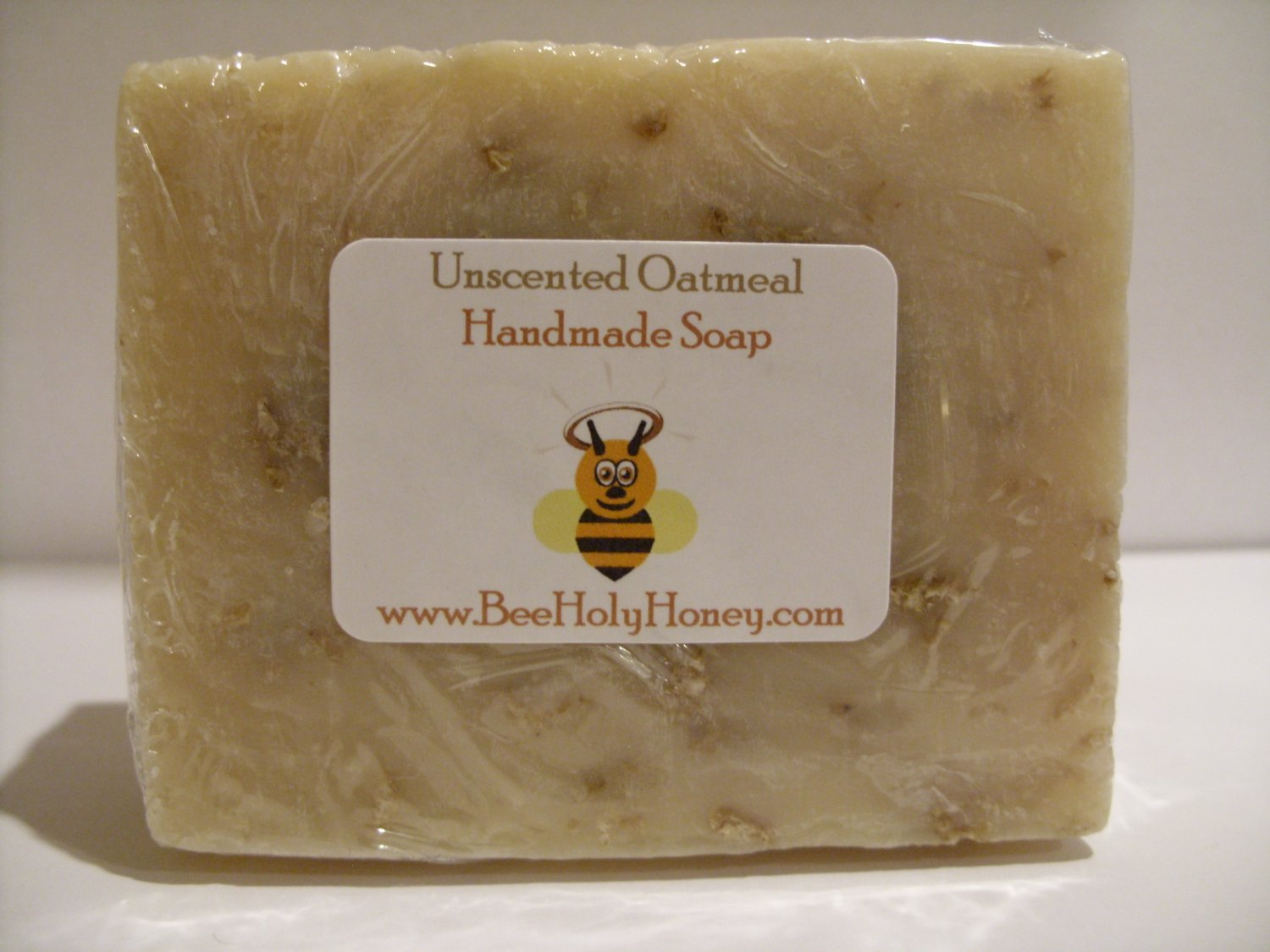 Unscented Oatmeal Soap - Single bar Item # SUO-1