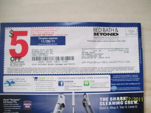 Bed bath and beyond online coupon code october 2014