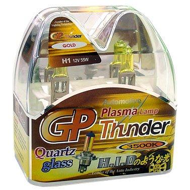 GP Thunder� 3500K H1 Golden Yellow Light for Fog High Low Beam SGP35K-H1 Pair = 2 Bulbs