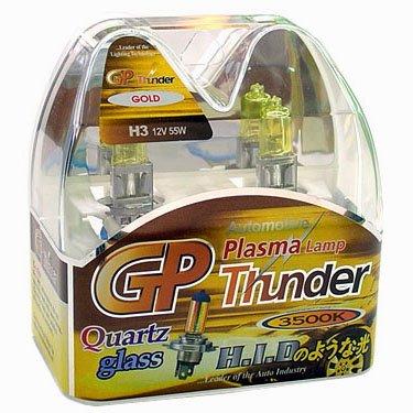 GP Thunder� 3500K H3 Golden Yellow Light for Fog High Low Beam SGP35K-H3 Pair = 2 Bulbs