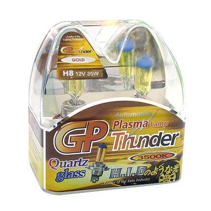 H8 Golden Yellow 3500K GP Thunder Xenon Angel Light Bulbs