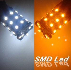 GP Thunder 3157 3457 3057 Switchback 60 LED White/Amber Turn Signal Light Bulbs