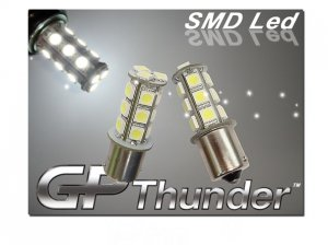 GP Thunder Pair 1156 1073 1141 7506 White SMD LED Turn Signal/Tail Light Bulbs