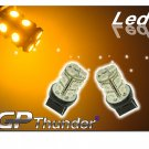 GP Thunder 7440 T20 Super Amber SMD LED Light Bulbs 992 7440LL12V
