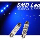 GP Thunder 1142 6413 212 214 Canbus Blue SMD 5050 LED Festoon Dome Light Bulbs
