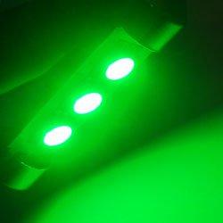 GP Thunder 1142 6413 212 214 Canbus Green SMD 5050 LED Festoon Dome Light Bulbs