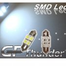 GP Thunder 31mm 1031 DE3175 DE3425 4-SMD LED Super White Doom Door Light Bulbs NEW