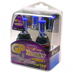 9007 HB5 Plasma White GP Thunder 8500k 65/55W Standard Wattage Head Fog High Light Bulbs SGP85K-07