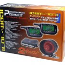 2 WAY LCD PAGERS CAR ALARM SYSTEM W/REMOTE ENGINE START