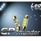 GP Thunder No Error 1036 6418 6423 Canbus SMD 5050 LED Festoon Light Bulbs White
