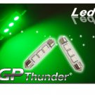 GP Thunder No Error 1039 6418 6423 Green Canbus SMD 5050 LED Festoon Light Bulbs